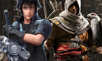 Assassin's Creed Origins : la quête Final Fantasy 15 est disponible