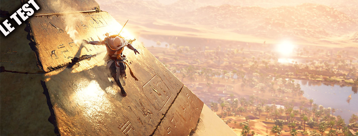 Test Assassin's Creed Origins : la série de retour au sommet de son art !