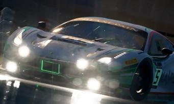 Assetto Corsa Competizione : une vidéo de gameplay sous la pluie