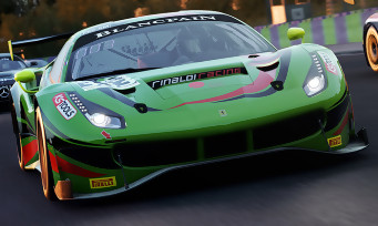 Assetto Corsa Competizione : un trailer avec la Ferrari 488 GT3