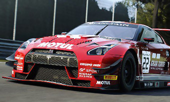 Assetto Corsa Competizione : une vidéo avec la Nissan GTR GT3