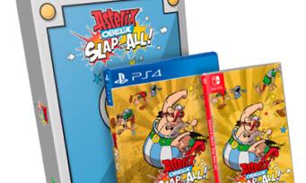 Astérix & Obélix Baffez-les Tous : une édition ultra collector avec 3 jeux et une figurine en résine dorée !