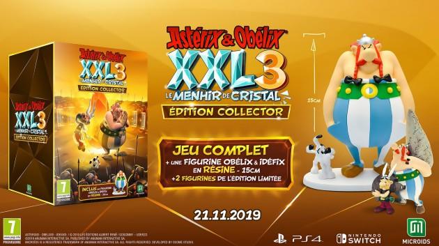 Astérix & Obélix XXL 3 : Le Ménhir de Cristal