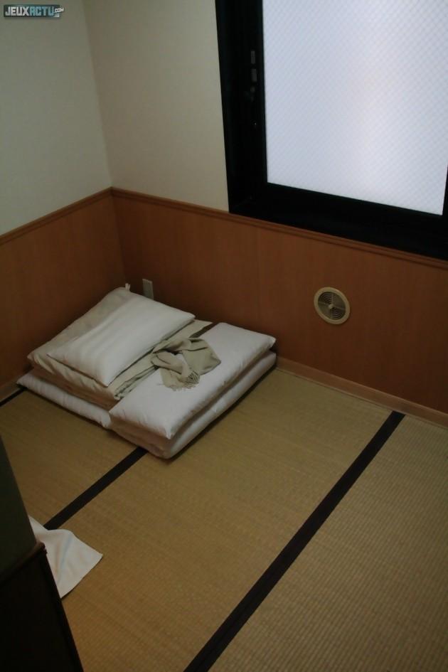 Une chambre traditionnelle dans un ryokan à Tokyo