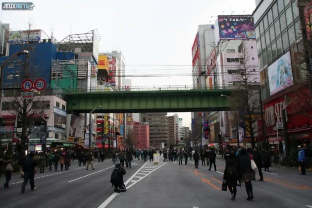 Retour à Akihabara le week-end pour faire les dernières courses