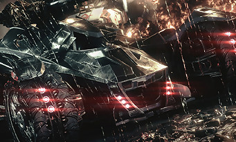 Batman Arkham Knight : trailer Batmobile