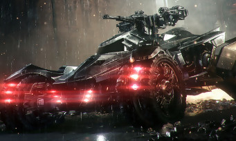 Batman Arkham Knight : la Batmobile avec NVIDIA