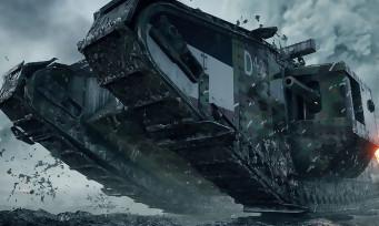 Battlefield 1 : un bug lié à la physique créé des tanks volants !