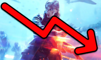 Battlefield V : les mauvaises ventes font plonger l'action EA
