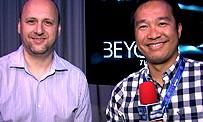 Beyond : David Cage en interview vidéo avec JEUXACTU à la gamescom 2012