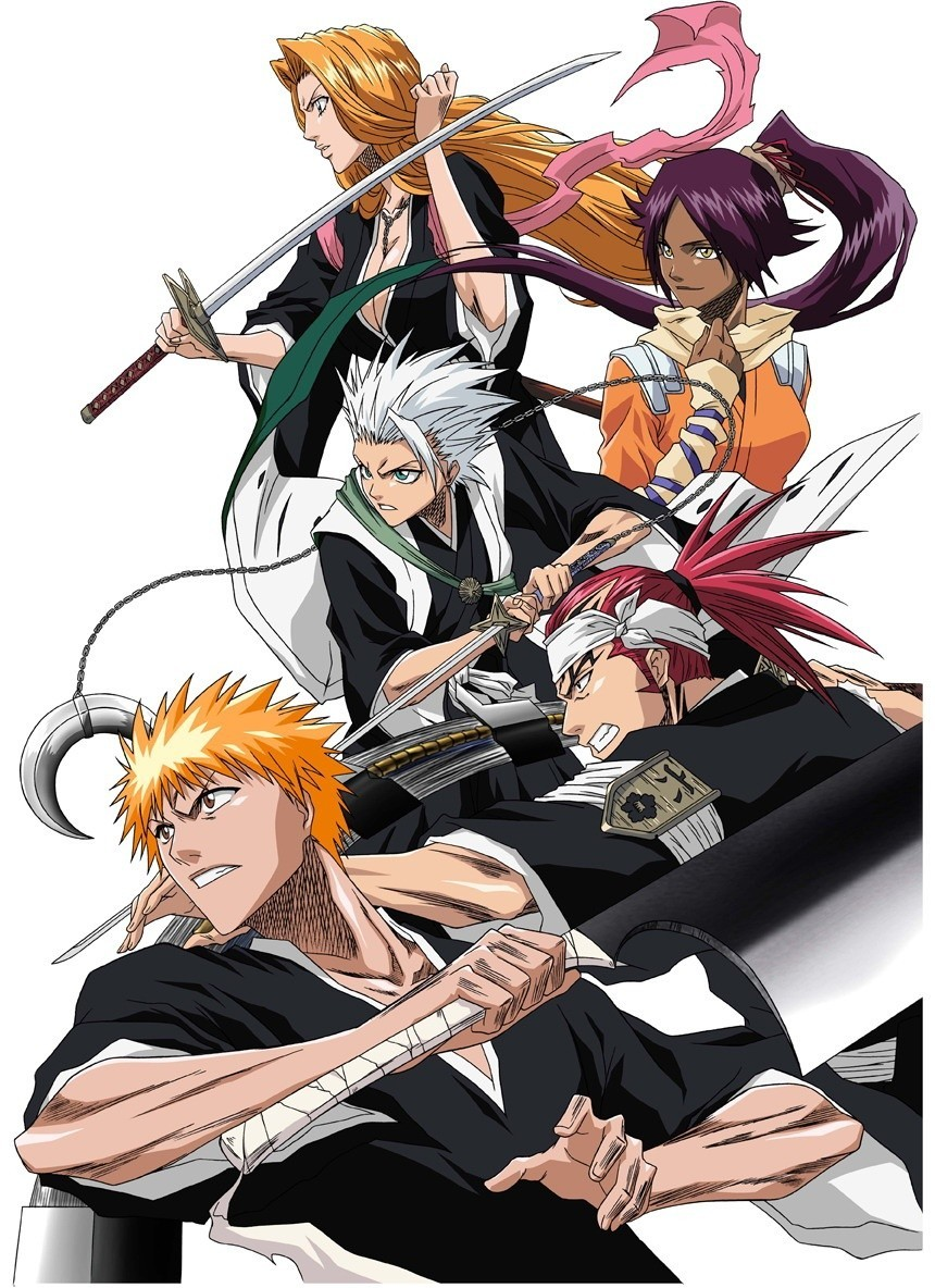 bleach shattered blade coloring pages - photo#36