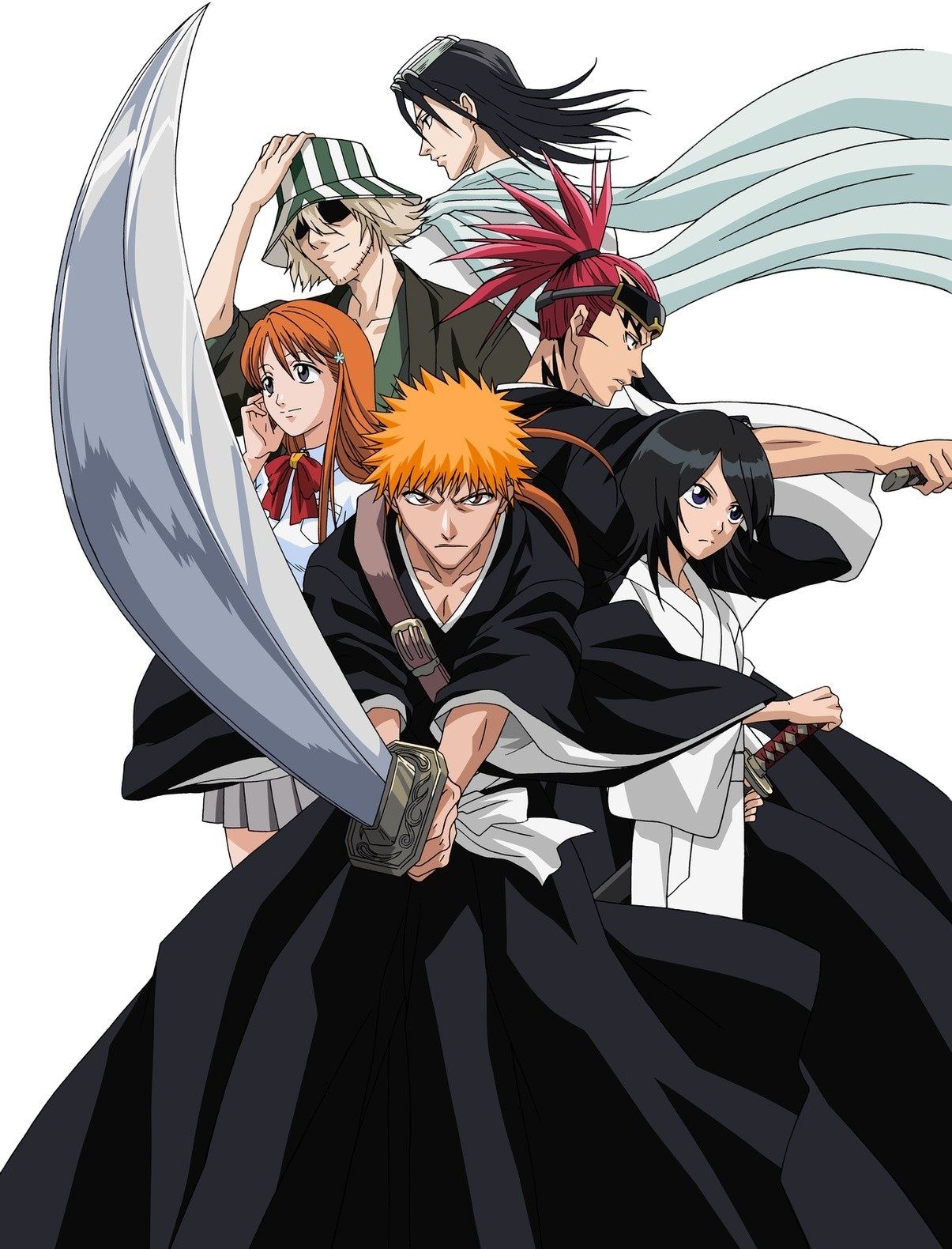 bleach shattered blade coloring pages - photo#23