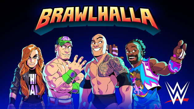 Brawlhalla The Rock John Cena And Other Stars Of The Wwe Meet The Cast It S Going To Get Beaten Up Nerd4 Life