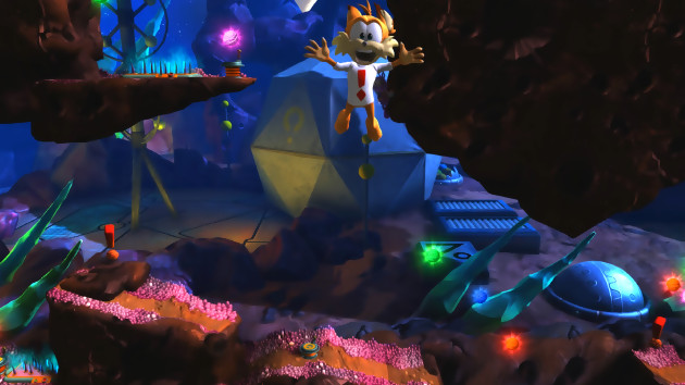Bubsy : The Woolies Strikes Back