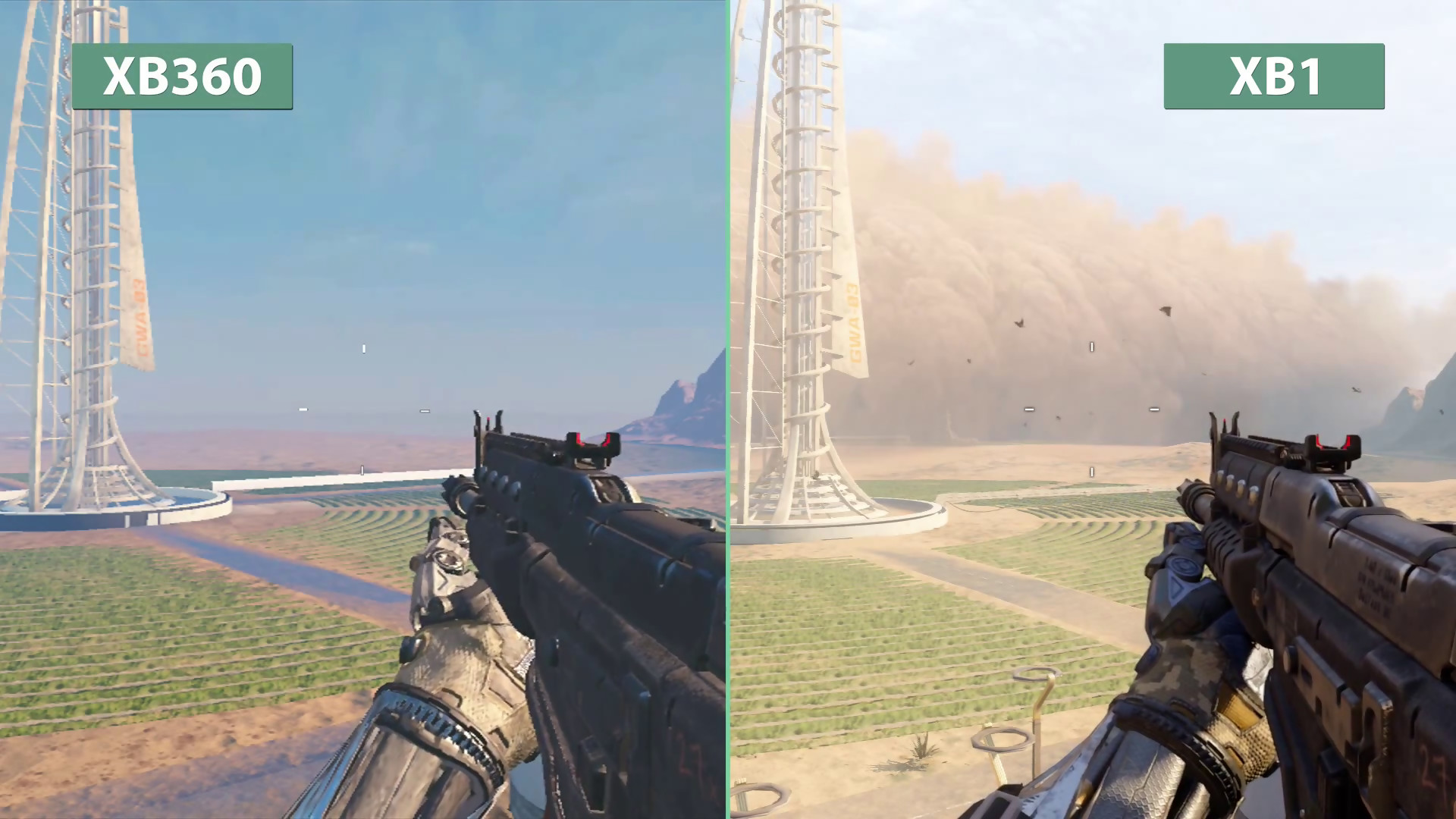 Call Of Duty Black Ops 3 Un Comparatif Choquant Entre Xbox One