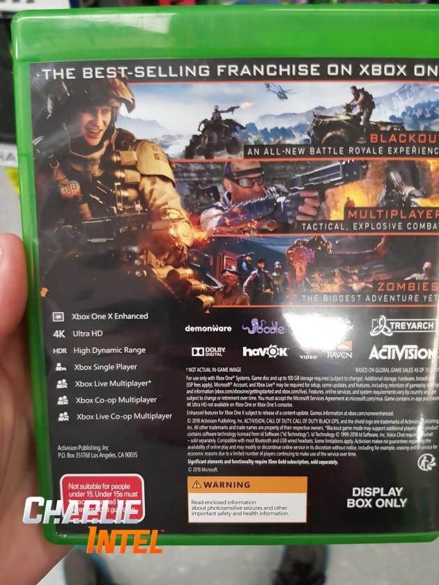 Achetez Call of Duty: Black Ops 4 Xbox ONE pas cher sur Instant Gaming, la référence pour jouer à vos jeux moins chers en livraison immédiate ! Popularité Nom ↑ Nom ↓ Prix ↑ Prix ↓ Note des gamers ↓ Note des gamers ↑ Réduction ↑ Réduction ↓ Date de sortie ↑ Date de sortie ↓