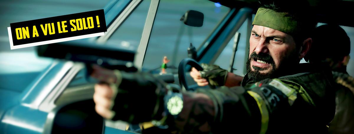 CoD Black Ops Cold War : on a vu le mode solo, on vous dit tout sur les 80's