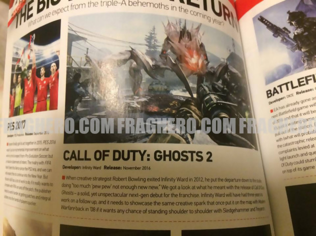 Call of Duty : Ghosts 2