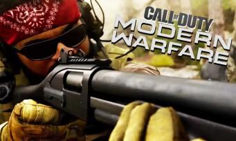 Call of Duty Modern Warfare : un trailer survolté pour le multijoueur