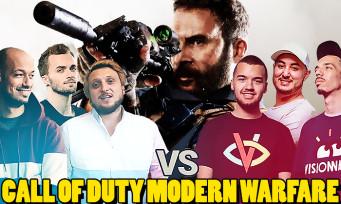 Call of Duty Modern Warfare : un show avec Squeezie, Gotaga et bien d'autres