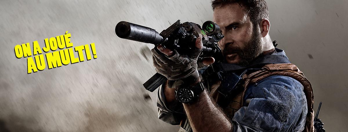 Call of Duty Modern Warfare : on a joué au multi, un mode totalement inédit