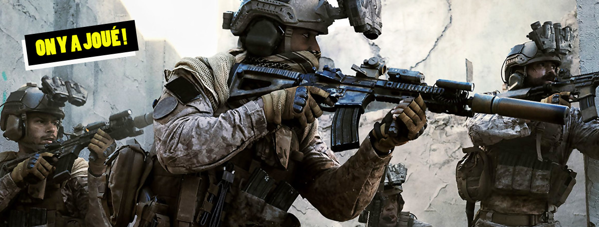 Call of Duty Modern Warfare : on a retourné le multijoueur, le retour du roi ?