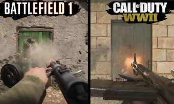 Call of Duty WW2 vs Battlefield 1 : qui a les plus beaux graphismes ?