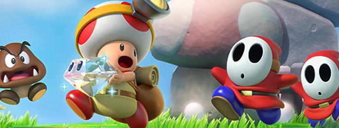 Test Captain Toad Treasure Tracker sur Wii U