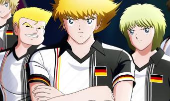 Captain Tsubasa : une vidéo avec les stars de l'équipe d'Allemagne