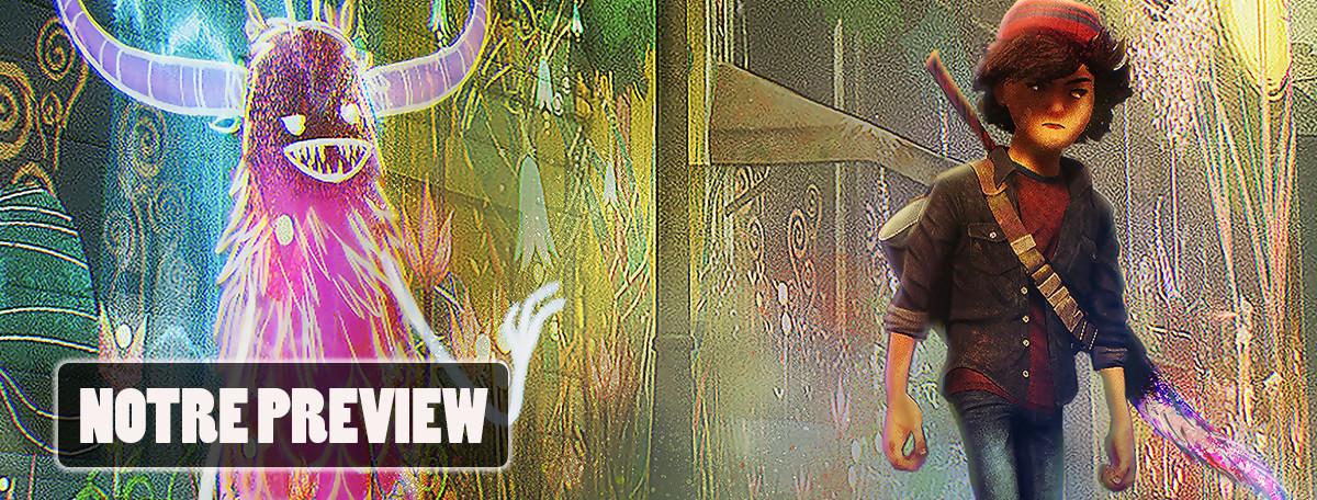 Concrete Genie : on a réalisé de superbes œuvres d'art sur PS4