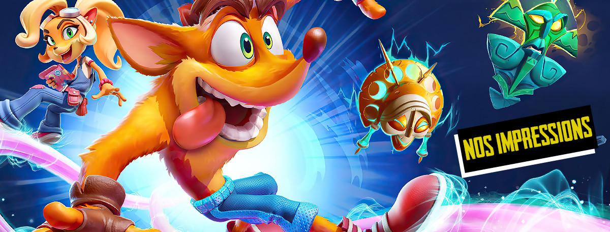 Crash Bandicoot 4 : on y a joué, voici nos premières impressions