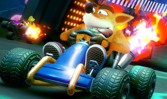 Crash Team Racing : 15 min de gameplay avec du multijoueur