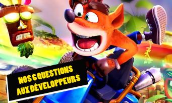 Crash Team Racing Remake : on a posé 6 questions aux développeurs