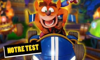 Test Crash Team Racing : le seul qui puisse rivaliser avec Mario Kart ?