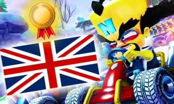 Crash Team Racing : le jeu fait 4 fois plus de ventes que Team Sonic Racing