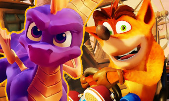 Crash Team Racing : Spyro débarque dans un trailer qui fait plaisir