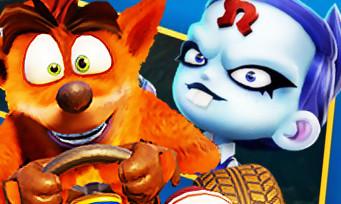 Crash Team Racing : voici les Grands Prix, circuits et personnages à venir