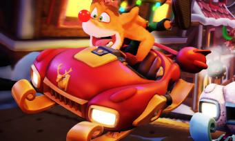 Crash Team Racing : un trailer givré pour le Grand Prix hivernal