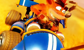 Crash Team Racing : 20 min de gameplay au cœur du mode campagne