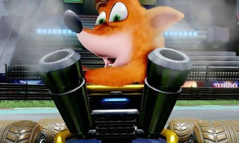 Crash Team Racing Nitro Fueled : voici le trailer de lancement du jeu