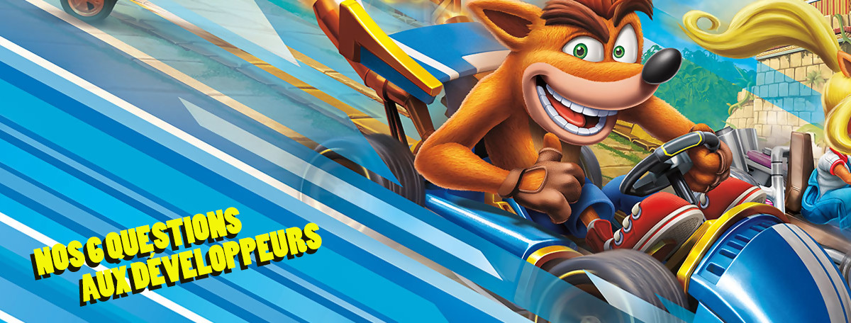 Crash Team Racing Remake : on a posé 6 questions aux développeurs