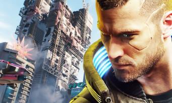 Cyberpunk 2077 : un joli screenshot en 4K des buildings