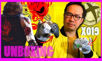 CYBERPUNK 2077 : notre unboxing de la manette Xbox One + X019