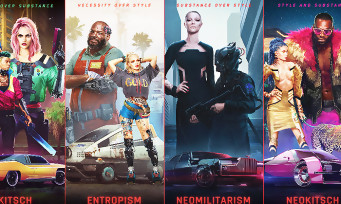Cyberpunk 2077 : la mode vestimentaire de Night City en vidéo