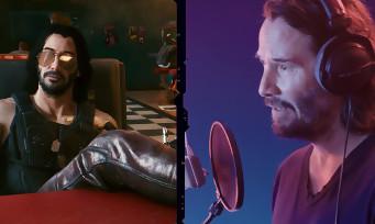 Cyberpunk 2077 : un making of sur Johnny Silverhand, le perso de Keanu Reeves