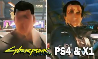 Cyberpunk 2077 : un festival de bugs honteux sur PS4 et Xbox One, des extraits