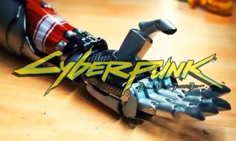 Cyberpunk 2077 : le vrai bras bionique de Johnny Silverhand comme prothèse