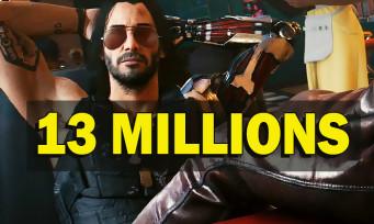 Cyberpunk 2077 : 13 millions de ventes, et ça comprend les remboursements