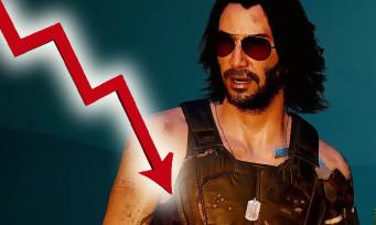 Cyberpunk 2077 : le nombre de joueurs en est chute libre, voici les statistiques