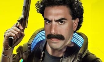 Cyberpunk 2077 : quand Borat fait la visite de Night City, le mash-up est improb